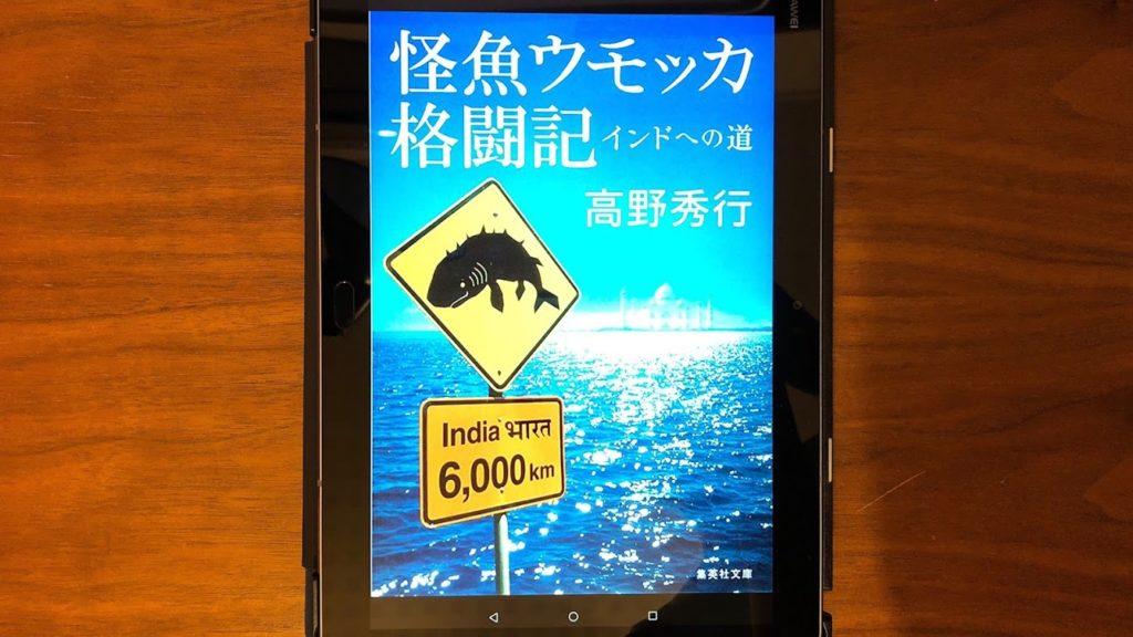 怪魚ウモッカ格闘記 表紙