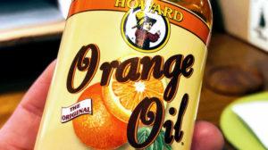 オレンジオイルのアップ