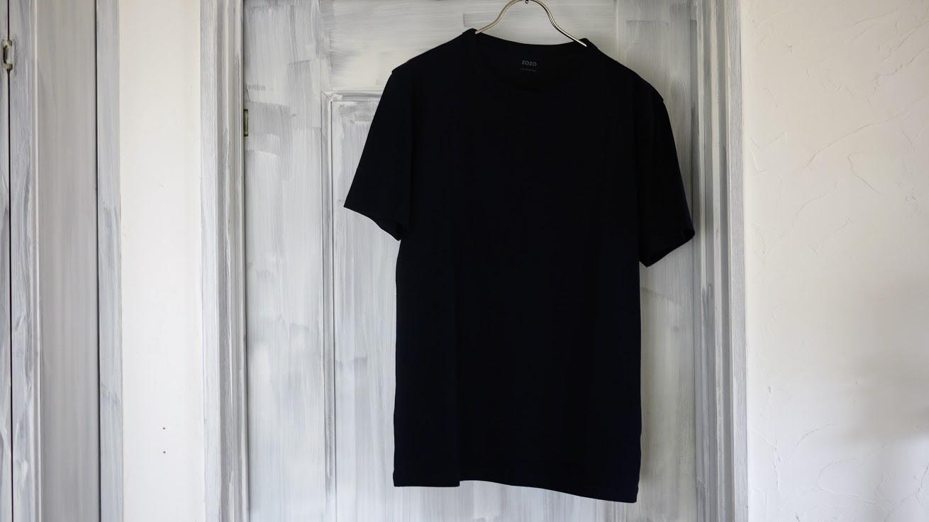 zozoTシャツ前身頃