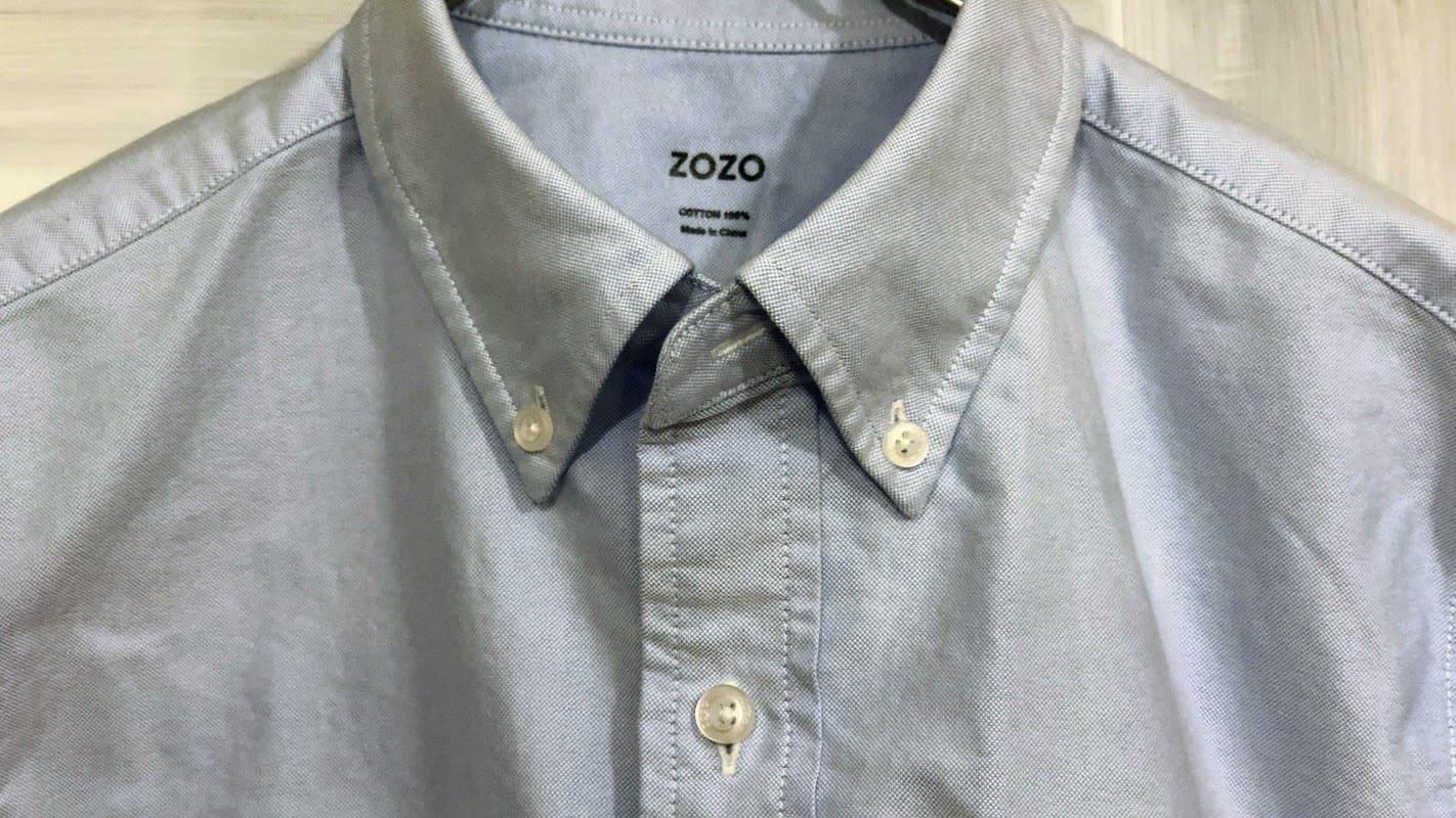 ZOZOシャツ前身頃