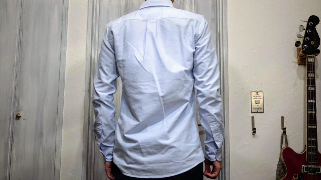 ZOZOシャツ背中
