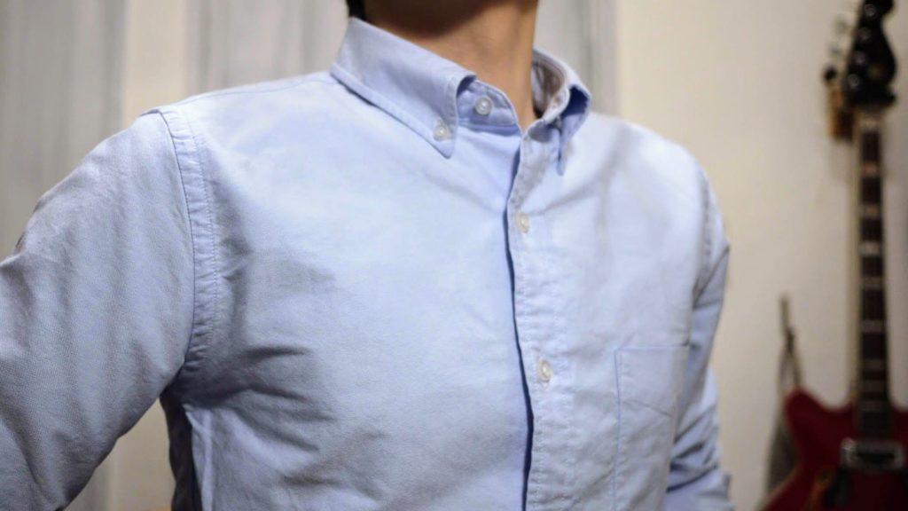 ZOZOシャツバストアップ