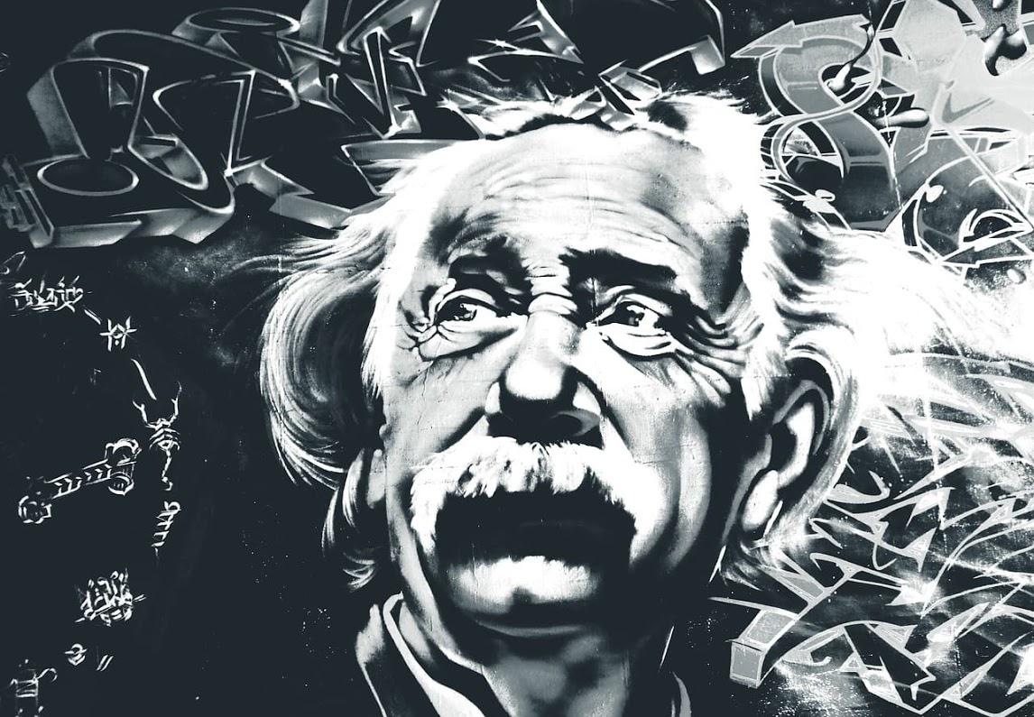 アインシュタイン肖像