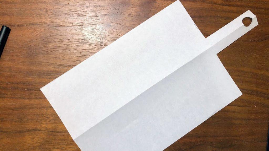 カッティングボードの型紙