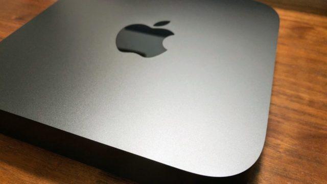 Mac miniアップ