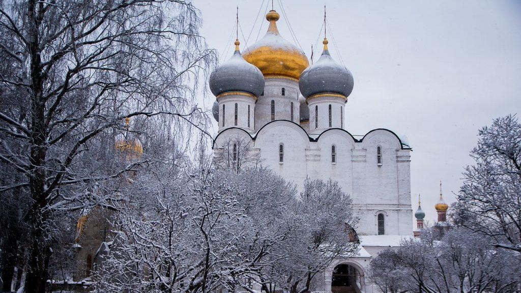 冬のモスクワ