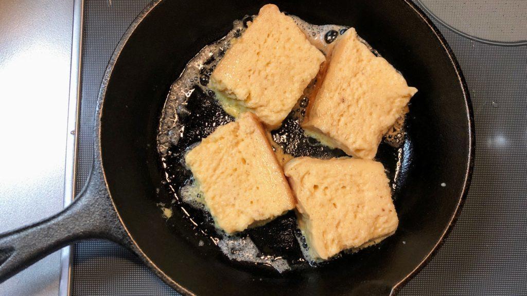 フレンチトーストにする食パン