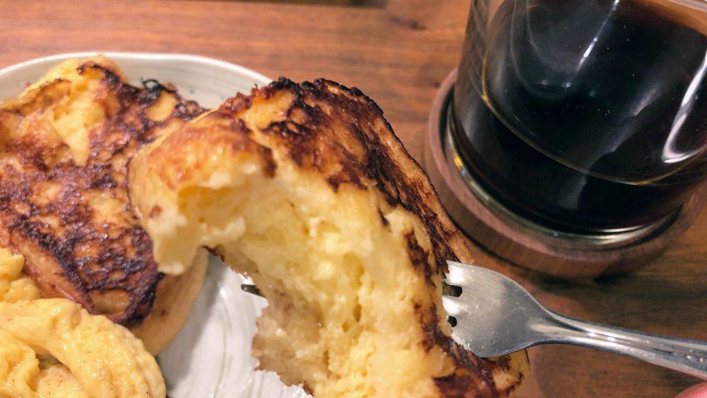 乃が美食パンのフレンチトースト