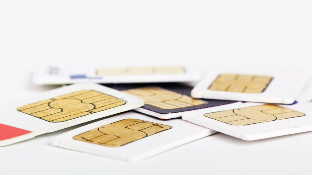 色々なSIMカード