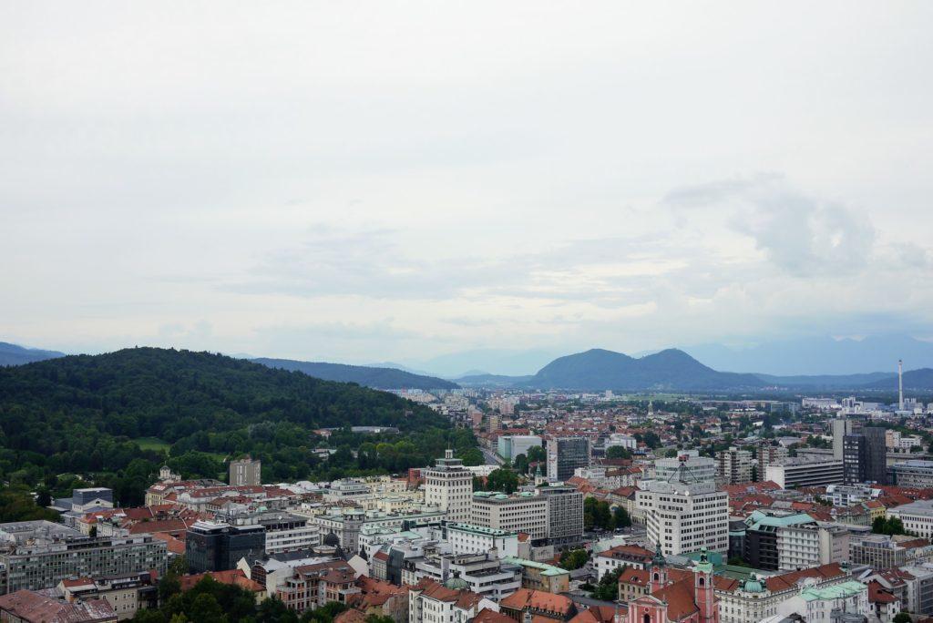 リュブリャーナの風景