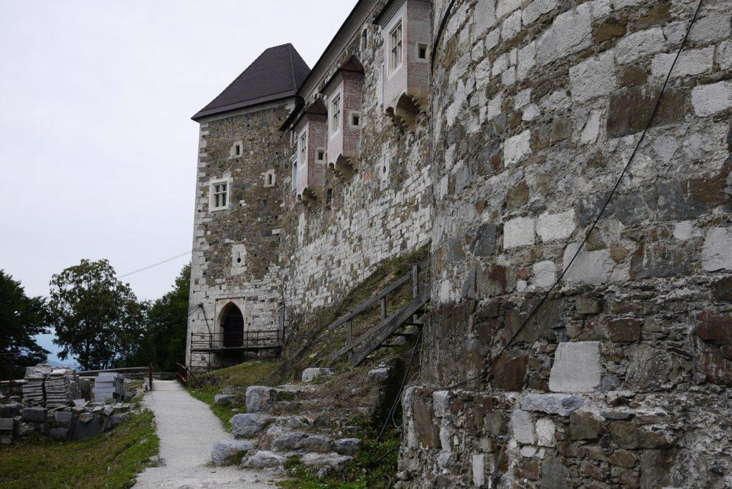 リュブリャーナ城外壁