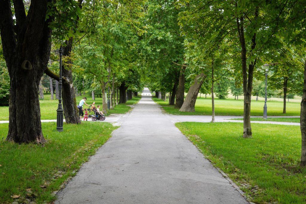 ティヴォリ公園内