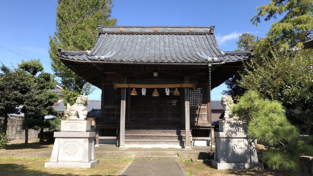 標準で撮影した神社
