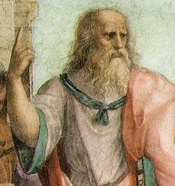 プラトン肖像画
