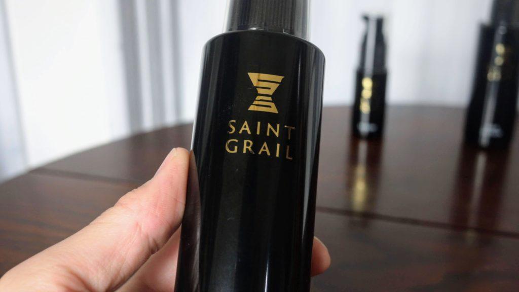 Saint grailボトルのアップ