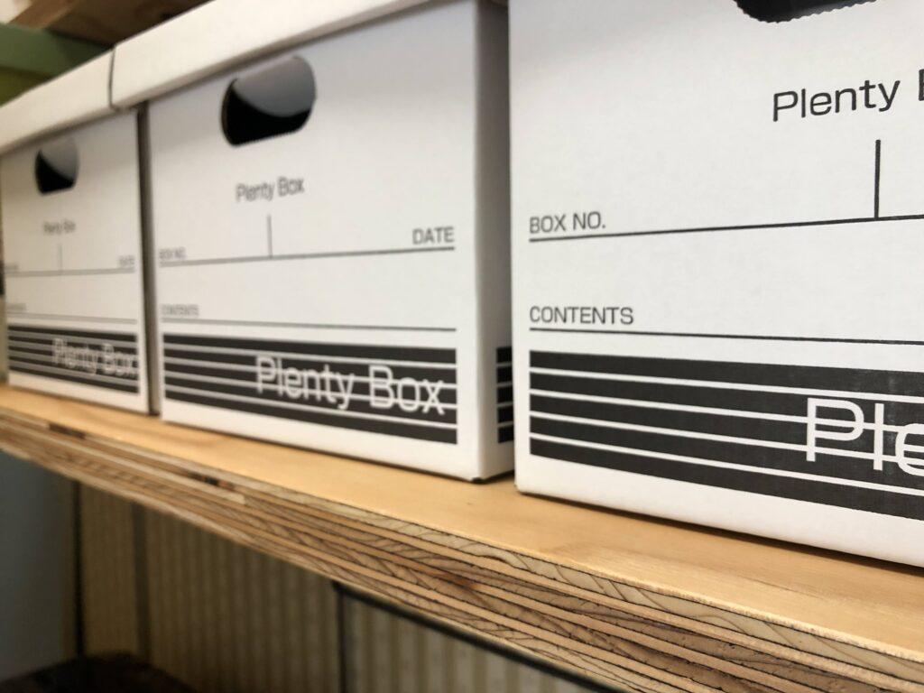 針葉樹合板で作った棚板